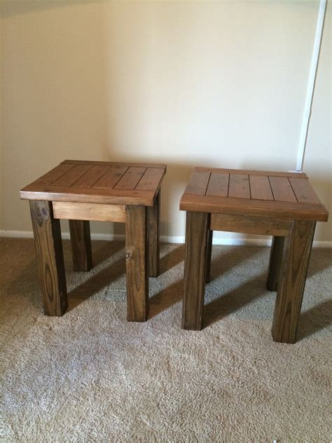 white tryde coffee table and end tables diy projects