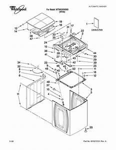 Whirlpool Model Wtw6300ww0 Residential Washers Genuine Parts