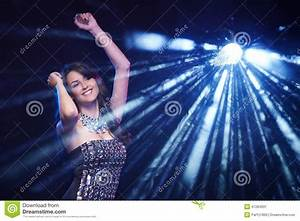 Woman dancing in club stock image. Image of girls, adult ...