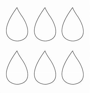 Best Photos of Raindrops With Face Template Printable ...