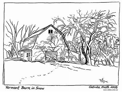 Coloring Pages Nature Scenes Clipart Adult Farm