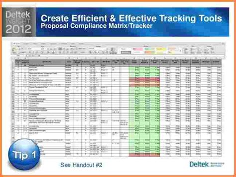 proposal tracking spreadsheet excel spreadsheets group