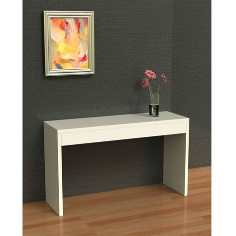 Slim Entryway Table by White Sofa Table Modern Entryway Living Room Console Table