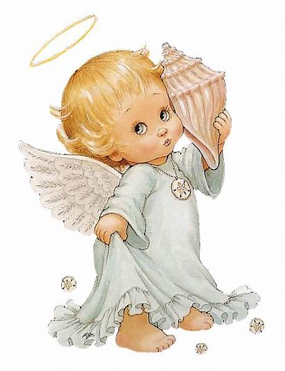Angel Clipart Angels Shell Cherub