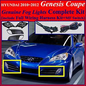 Fog Light Lamp Complete Kit Wiring Harness For 2010 2011