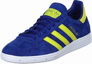 Adidas Spezial Shoes Blue Yellow