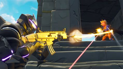 assault rifle  coming  fortnite battle royale