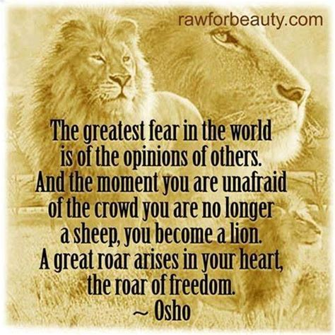 Osho Quotes The Greatest Fear