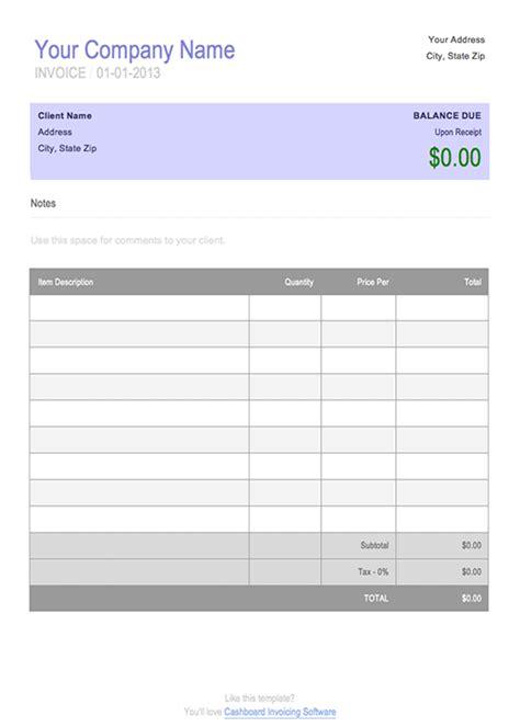 editable invoice template invoice