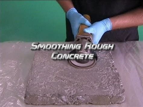 Smoothing Rough Concrete   YouTube