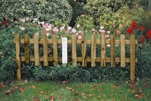Fence Garden Border Ideas