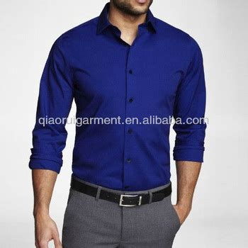 t shirt one industries black 39 s royal blue slim fit dress shirt shirt buy