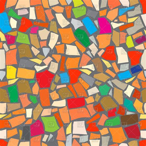 abstract colorful mosaic background royalty free vector