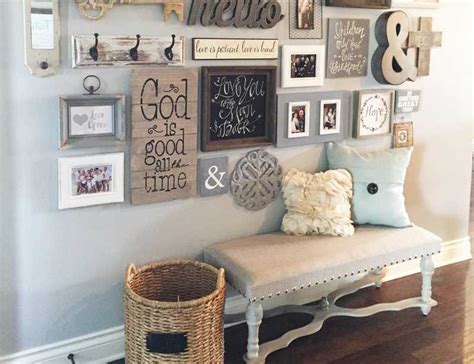create  gallery wall   home  blissful nest