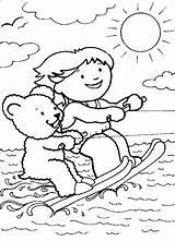 Ski Lift Wasserski Ausmalbilder Waterskien Drawing Getdrawings Coloring sketch template