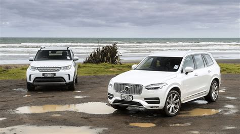 land rover discovery hse td  volvo xc comparison