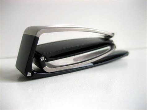 lesebrille porsche design porsche design brille lesebrille faltbrille p8810 silber schwarz 2 00 dpt neu ebay