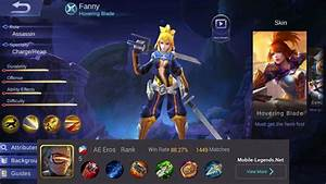 Fanny High Damage Build 2018 Mobile Legends
