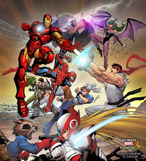 Ultimate Marvel Vs Capcom 3 Launches For Pc Xbox One On