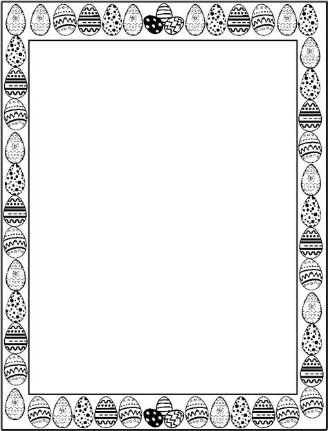 easter border clipart black and white easter border clipart black and white hd letters