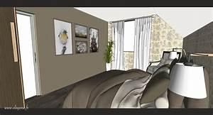 Architecte Interieur Rouen : chambre parentale scene11 d coratrice architecte d ~ Premium-room.com Idées de Décoration