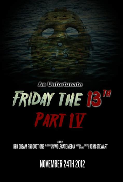 Part 4 Poster Fan Series An Unfortunate Friday The 13th Part 4