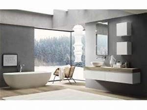 Meuble Salle De Bain Asymétrique : acheter meuble de salle de bain vasque et accessoire livraison offerte neha ~ Nature-et-papiers.com Idées de Décoration