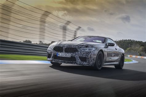 video go for a lap around estoril with the bmw m8
