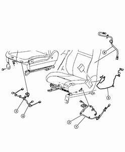 Chrysler Town  U0026 Country Wiring  Seat  8 Way Power  Lumbar