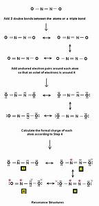 Simple Method For Writing Lewis Structures For N2o2