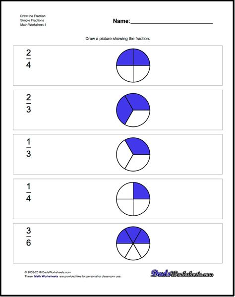 math worksheets fractions in simplest form math best