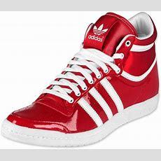 Adidas Top Ten High Sleek Bow W Schuhe Rot Weiß