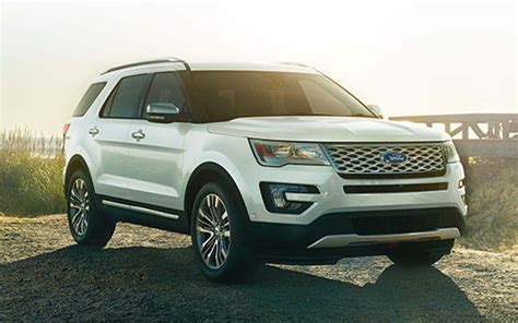 ford explorer 2019 ford explorer platinum concept redesign and release