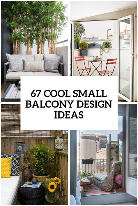 cool small balcony design ideas digsdigs