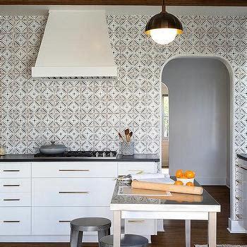 black and white tile backsplash black and white kitchen with mosaic tile backsplash