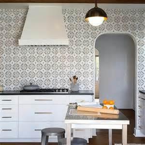backsplash for black and white kitchen black and white kitchen with mosaic tile backsplash modern kitchen
