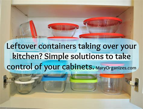 kitchen cabinet storage containers many leftover containers a bit about 5810
