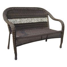 sunroom garden treasures glenlee textured brown steel