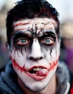 Kürbis Bemalen Gesicht : horror gesicht schminken f r halloween ~ Markanthonyermac.com Haus und Dekorationen
