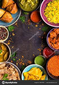 Assorted indian food — Stock Photo © somegirl #145917903