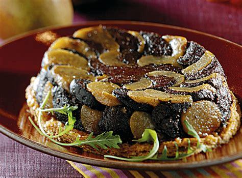 cuisiner boudin noir recette de tatin boudin noir poires