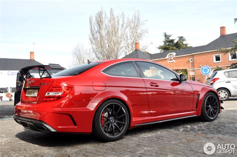 mercedes benz  amg coupe black series car