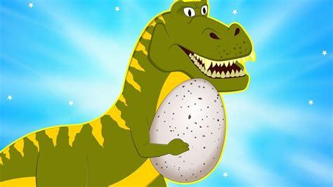 big dinosaur  stolen egg protect baby dino
