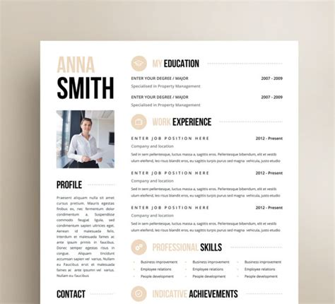 creative resume sles doc customized resume design microsoft word template cover
