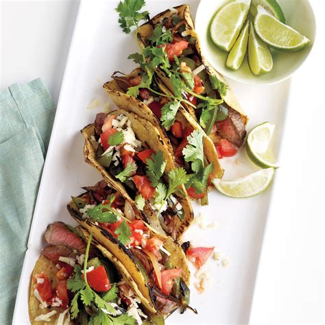 seared steak fajitas recipe video martha stewart
