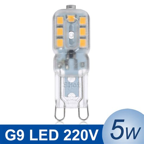 mini g9 led l 5w smd2835 led g9 light 220v led bulb