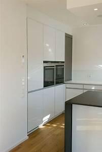 Küche Sideboard Mit Arbeitsplatte : grifflose k che in hochglanz wei ~ Sanjose-hotels-ca.com Haus und Dekorationen