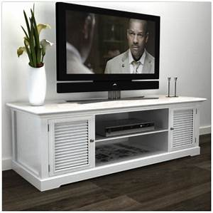 7 Elegant White TV Stands For Beach Style Homes Cute