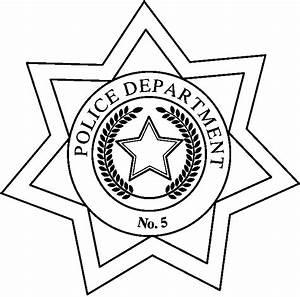 Cartoon Police Badge - Cliparts.co
