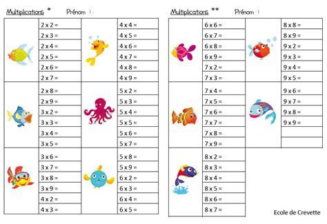 exercices sur les tables de multiplication ce2 jeux les tables de multiplication de 2 224 9 table de multiplication multiplication et les tables
